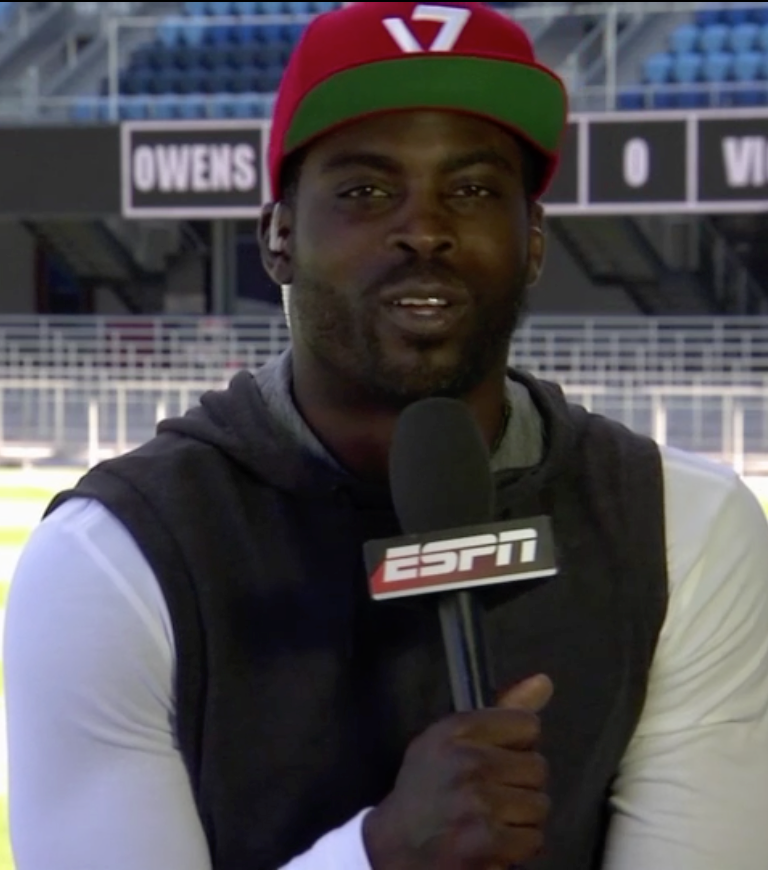 Vick would've done numbers with Ochocinco, T.O.