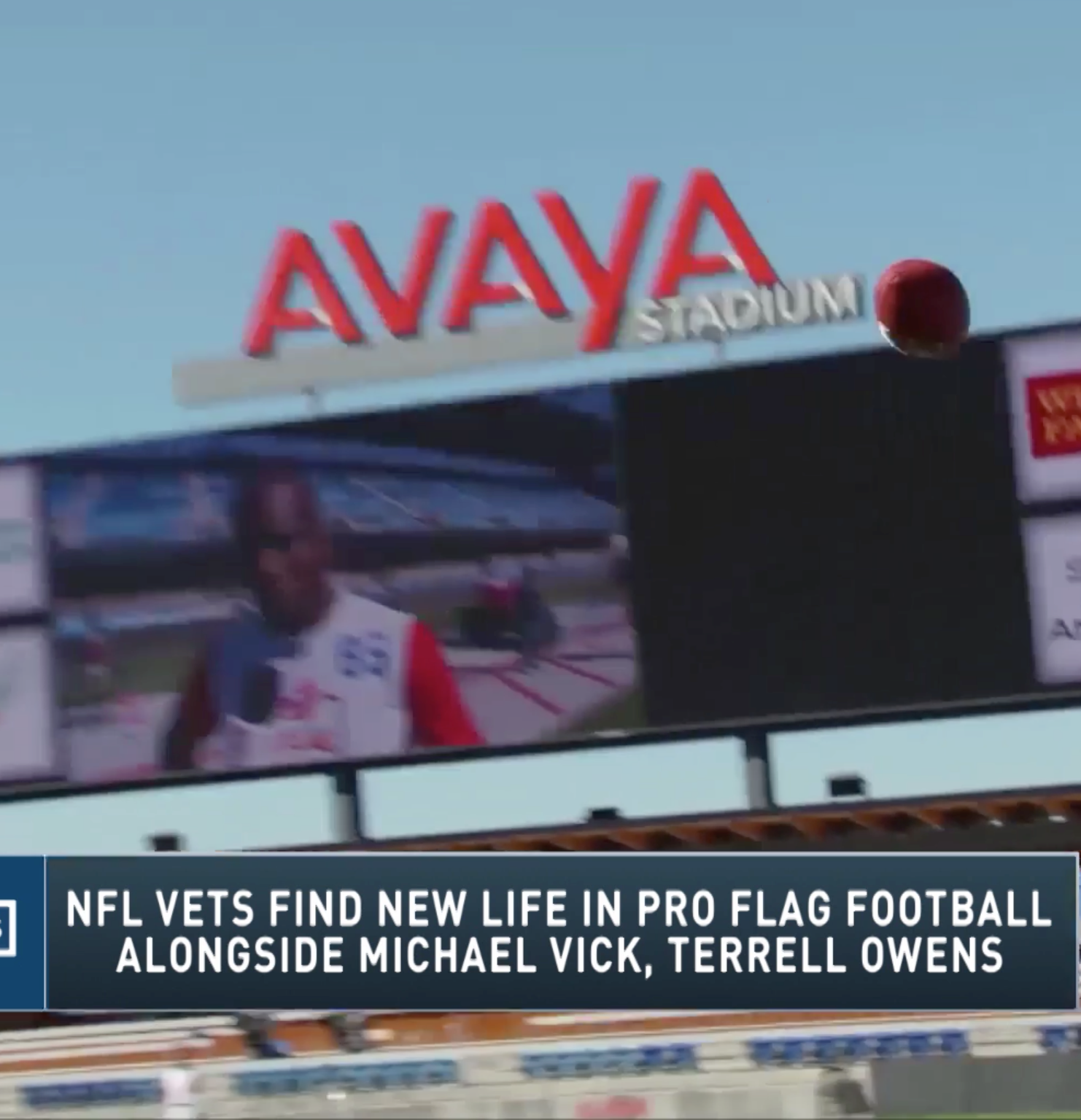 Michael Vick's first flag football game ends with him throwing eight touchdowns