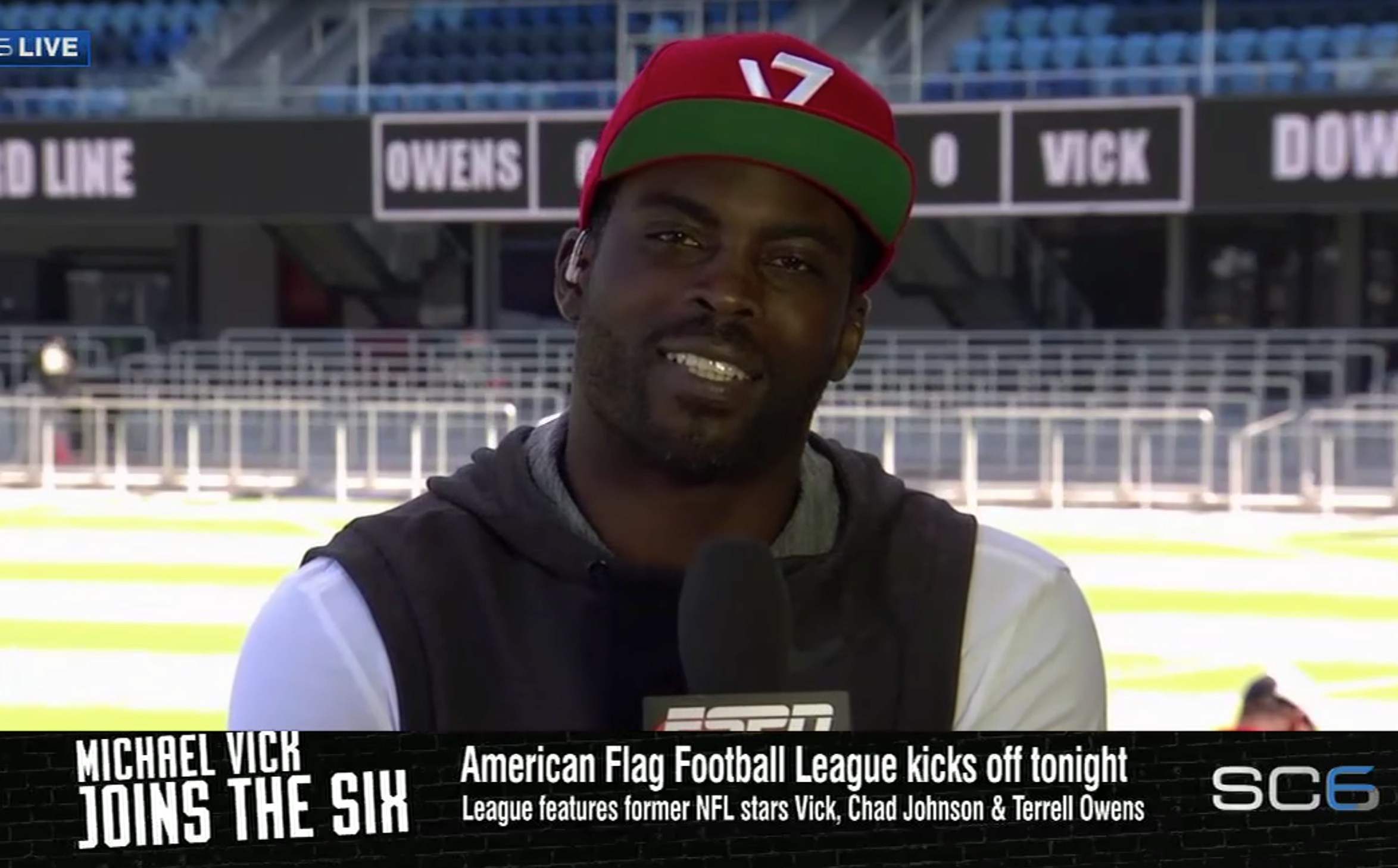Michael Vick Joins The Six