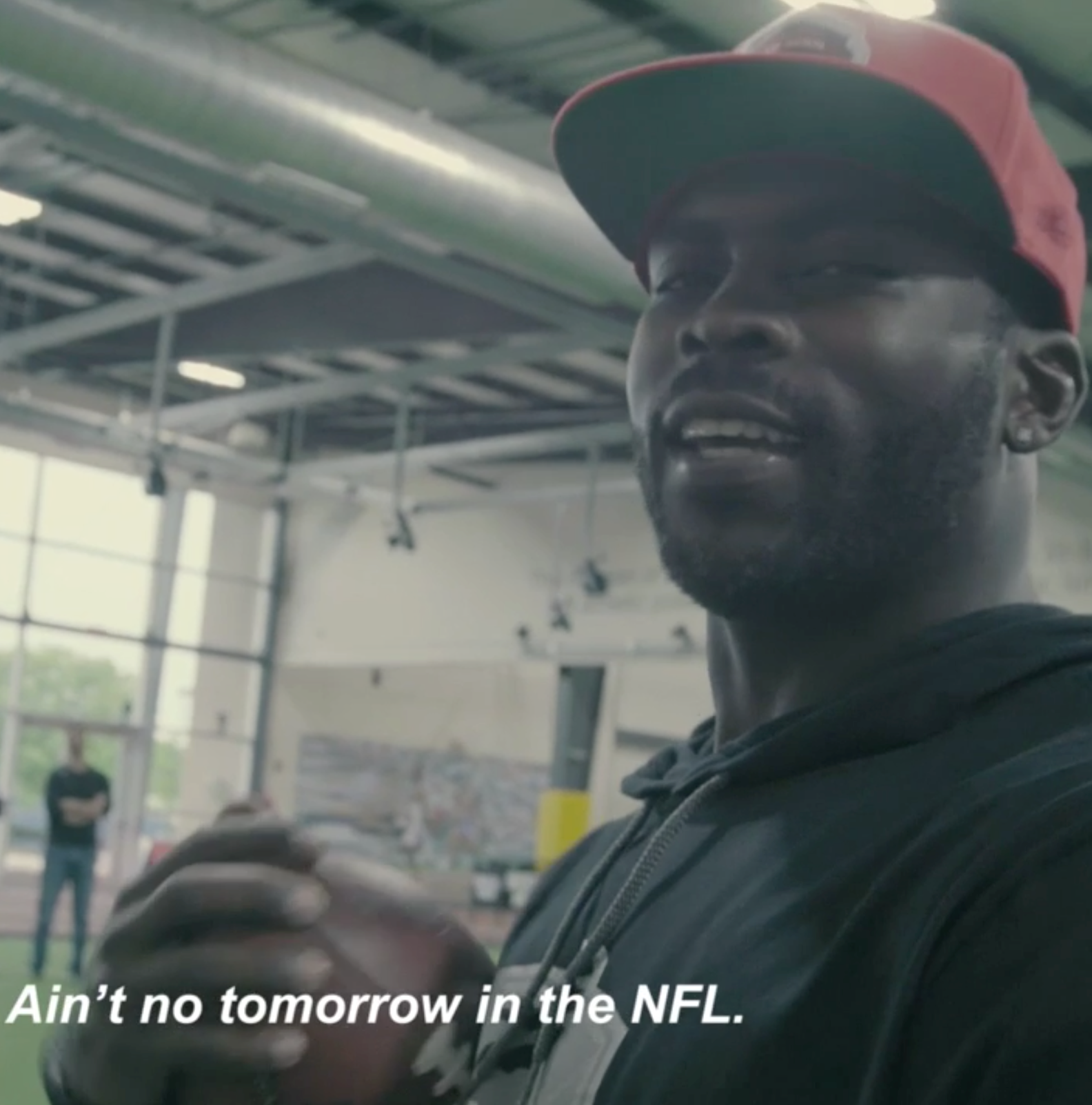 VIDEO: Michael Vick doesn't miss the pressure of the NFL