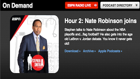 Hour 2: Nate Robinson