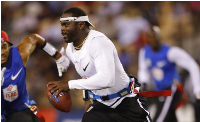 Michael Vick makes 'non-contact' with the future of NFL