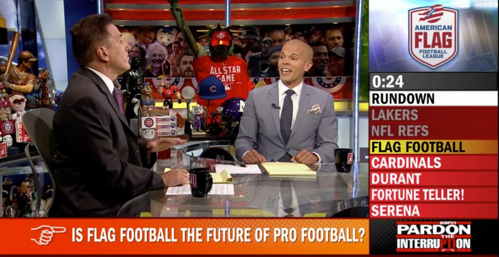 Is Flag Football the Future of Pro Football?