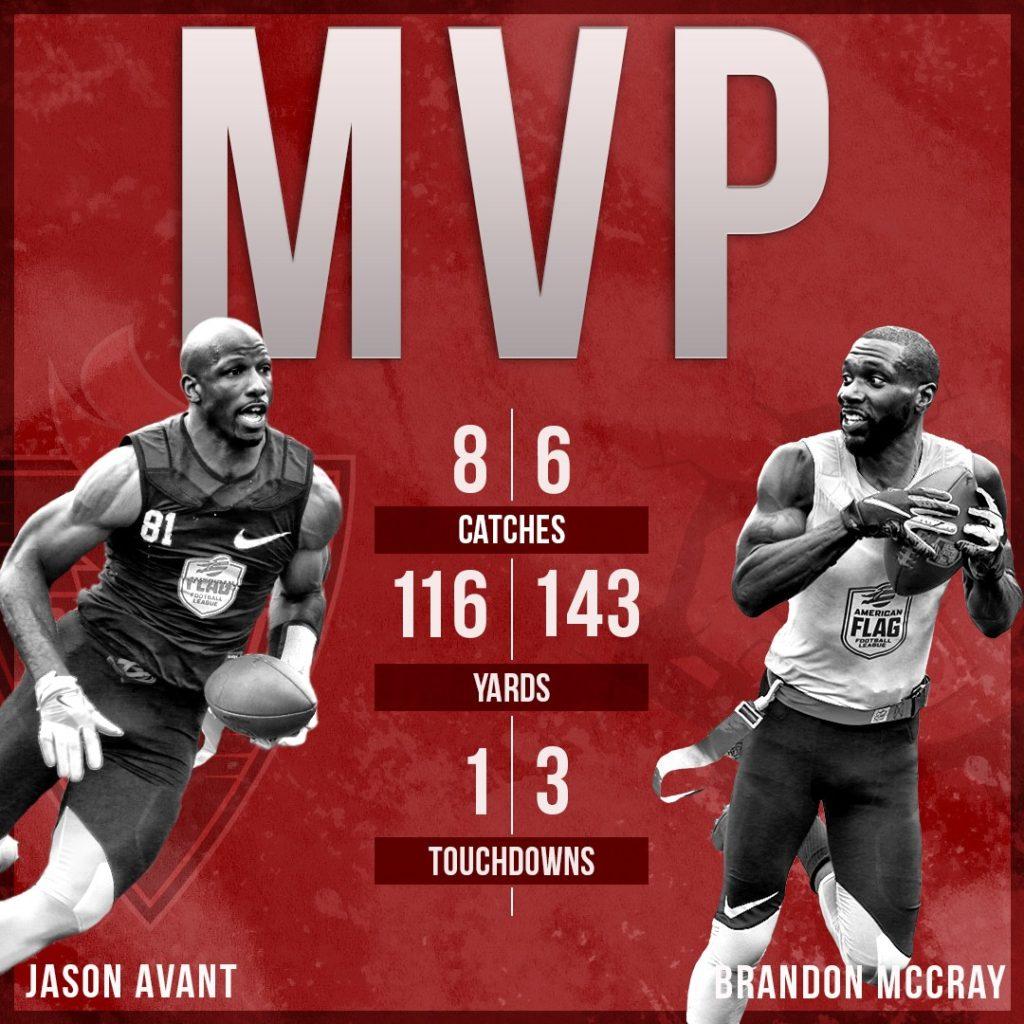 Dual Final MVP's